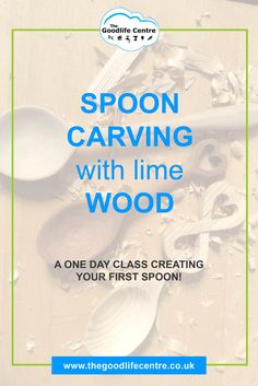 Learn how to carve a spoon on a one day course. Each spoon will be carved using Lime wood – a light, silky smooth and close grained wood. In one day, you will learn how to create a spoon from Lime wood. #spooncarving #woodworking #DIYWOODCRAFTS #craftworkshoplondon
