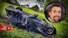 """Horror-Unfall beim Dreh der Auto-Sendung """"Grand Tour""""!Der britische Automagazin-Moderator Richard Hammond (47) schleuderte bei der Fahrt mit einem2,5 Millionen US-Dollar teuren Elektro-Sportwagen der Marke Rimac Concept One aus der Kurve. Der Wagen brannte komplett aus, der Moderator kam nochmal glimpflich davon.Hammond drehte mit seinem Kollegen Jeremy Clarkson (""""Top Gear"""") an der idyllischen..."""