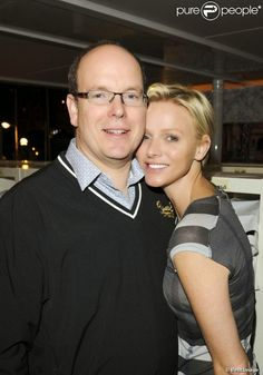 TSH Prince Albert and Princess Charlene of Monaco Princess Grace Kelly, Princess Stephanie, Princess Mary, Prince And Princess, As Monaco, Monaco Royal Family, Casa Real, Agent Provocateur, Prince Albert Of Monaco
