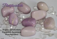 Phosphosiderite is perfect for meditating with as it works with the Third Eye and Heart Chakras connecting you with the spiritual realms.