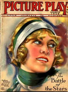 Silent Movie Magazine - Picture Play Magazine - March 1928 - Esther Ralston