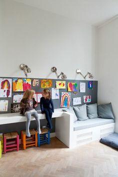 chaise enfant ikea coloré, quel type de chambre enfant choisir