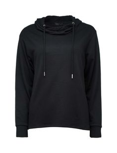 Features dropped shoulders and hood with string. Hoodies, Sweatshirts, Owl, Sweaters, Jackets, Fashion, Down Jackets, Moda, Sweater