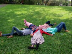 Taman Bunga Nusantara, Indonesia. Friends ,Girls