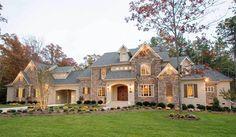 European House Plans, Luxury House Plans, Luxury Homes Dream Houses, Dream House Plans, Modern House Plans, Small House Plans, House Floor Plans, Dream Homes, Stone House Plans