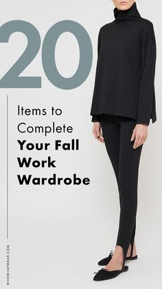 What to wear to work for fall.