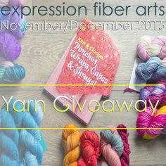 Yet another awesome giveaway with gorgeous yarn :)