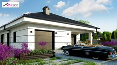Z443 to wyjątkowy dom z kategorii projekty domów jednorodzinnych Beautiful House Plans, Beautiful Homes, Home Design Plans, Home Interior Design, Two Bedroom House, Architectural House Plans, Shopping Hacks, Tiny House, Sweet Home