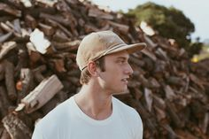 Cole in the Tan 'Bodie' Hat