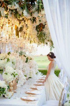 Centros de mesa para boda en jardin