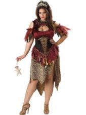 Plus Size Voodoo Priestess Costume for Adults - Halloween City