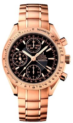 Omega Rose Gold Watch