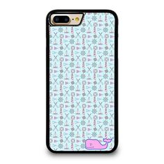 WHALE KATE SPADE PATTERN iPhone 4/4S 5/5S 5C 6/6S 6/6S 7/7S Plus SE