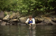 What a great day for fly fishing - #GoToWV