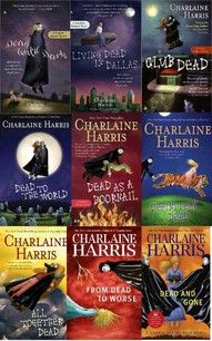The book series that inspired True Blood. :) Love the books, love the series, but doesn't follow the books exactly (what's new?)