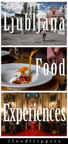 Check out the six Ljubljana food experiences that you shouldn't miss.| Ljubljana | Slovenia | Ljubljana Slovenia | Ljubljana Food | Ljubljana Food Tour | Ljubljana Cooking Class | #Ljubljana #LjubljanaFood