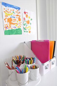 Organised Homework Nook / Station