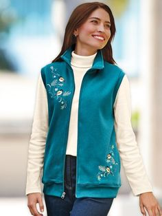 In addition, we offer fleece pullovers and fleece vests, that you can  customize with embroidery or embroidered patches.