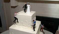 TILL DEATH DO US PART? THIS CALLS FOR A ZOMBIE WEDDING CAKE
