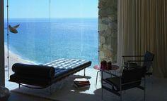 Casa Finisterra, villa située dans la péninsule de Basse-Californie au Mexique (architecte Steven Harris).