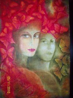 DUALIDAD Oleo original Galería Ramos Martínez fb Ma.Esther Ramos Martínez  vendido