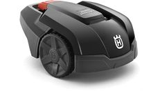 Compact 3-wheeled robotic mower for efficient mowing of more open grass areas. Suitable for smaller lawns up to 600 m² and can also handle slopes with an
