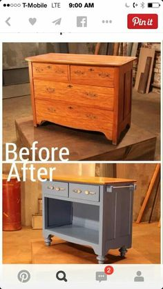 Don't Throw Away Your Old Furniture - 29 Upcycled Furniture Projects You'll Love! - Don't Throw Away Your Old Furniture – 29 Upcycled Furniture Projects You'll Love! Don't Throw Away Your Old Furniture – 29 Upcycled Furniture Projects You'll Love! Furniture Projects, Furniture Making, Home Projects, Furniture Stores, Furniture Refinishing, Furniture Removal, Furniture Design, Restoring Old Furniture, Street Furniture