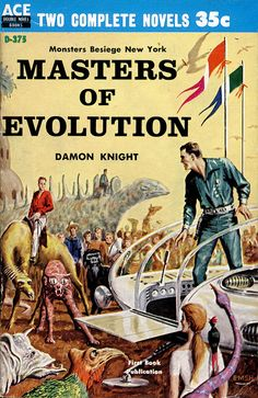 scificovers: Masters of Evolution by Damon Knight 1959. Cover art by Ed Emshwiller.