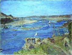 Max Slevogt - Der Nil bei Assuan