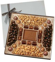 Custom Confection Box w/ Molded Chocolate Centerpiece