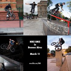 Nike BMX in Buenos Aires, Argentina