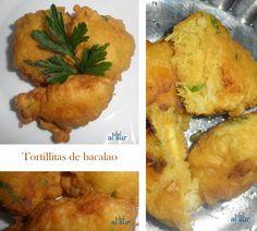 La cocina malagueña-Alsurdelsur: Tortillitas de bacalao