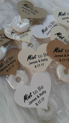 100 Mint to be Wedding Favors. Rustic Wedding Favors. Mint Wedding ...
