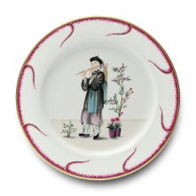 Gracious Style specializes in high end furnishings for your home, including fine linens, luxury dinnerware, and special gifts. Porcelain Dinnerware, China Dinnerware, Dinnerware Ideas, Contemporary Dinnerware, Buffet Plate, Chinoiserie Motifs, China Art, Fine China, Eclectic Design