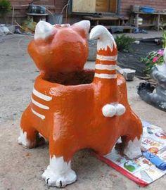 DIY-Suloinen-Cat-Kukka-Pot-from-muovi-pullo-ja-Sementin 7.jpg