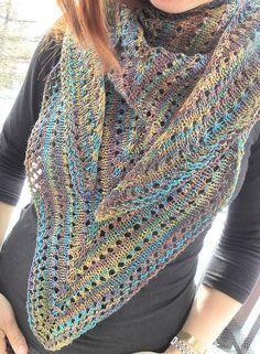 Free Pattern: Sansi Shawl by Emma Fassio