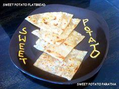 Sweet Potato Paratha / Flatbread for kids