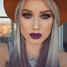 60 Best Trendy Colourful Hairstyle and Gorgeous Makeup Hack You . Makeup Hacks makeup hacks you have to try Flawless Makeup, Gorgeous Makeup, Love Makeup, Makeup Looks, Beauty Make Up, Hair Beauty, Kiss Beauty, Color Fantasia, Dramatic Makeup
