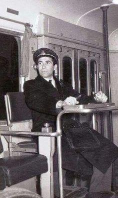 Il bigliettaio sull'autobus 1963