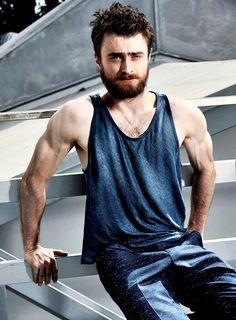 Daniel Radcliffe photographed by Warwick Saint (2016)