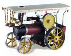 Mamod Showmans Engine Steam | Hobbies @ £275 A good size Mamod Steam model of a traditional Showman's Engine. The detail is superb and includes the power generator at the front to activate the lights around the canopy. Steering chains are located under the boiler and add to the look of this engine. The Showman's engines used to be found at fairgrounds and country fairs.