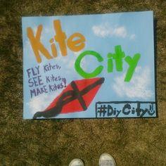 Mill Woods Kite City for #DIYCity!   Make Something Edmonton