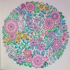Johanna Basford | Picture by katie | Colouring Gallery