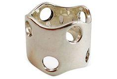 Puig Doria Sterling Perforated Ring on OneKingsLane.com