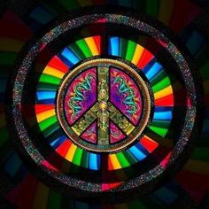 Peace comes in all colors!