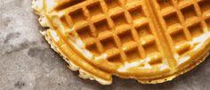 Waffle light de abóbora - Lucilia Diniz