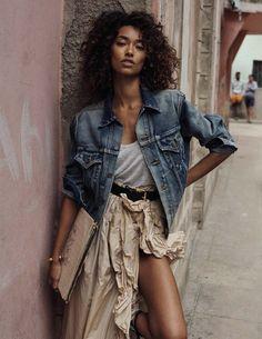 bienvenida, cuba: anais mali by benny horne for vogue spain march 2016 | visual optimism; fashion editorials, shows, campaigns & more!