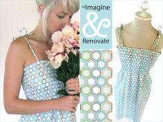 Re-imagine & Renovate - Wearables: Shirred Sundress