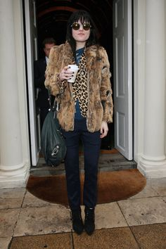 Alison Mosshart in London in February 2011. See more of Alison's quirky fashion sense at http://bit.ly/I0AVOE