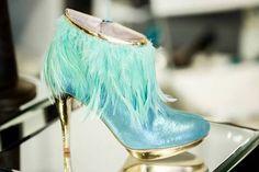 blue shoes #blue shoes